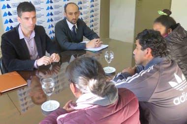 La familia del menor se reunió con el Ministerio Público Fiscal para exigir justicia por su hijo