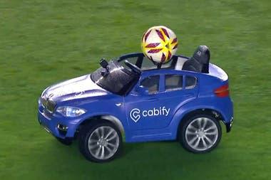Cabify, uno de los sponsors de Superliga y su novedosa activación de marca en el campo de juego