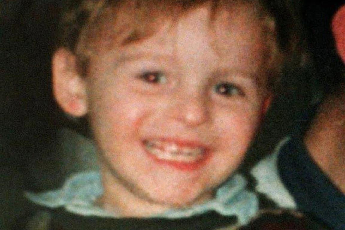 James Bulger tenía casi tres años cuando fue secuestrado y asesinado