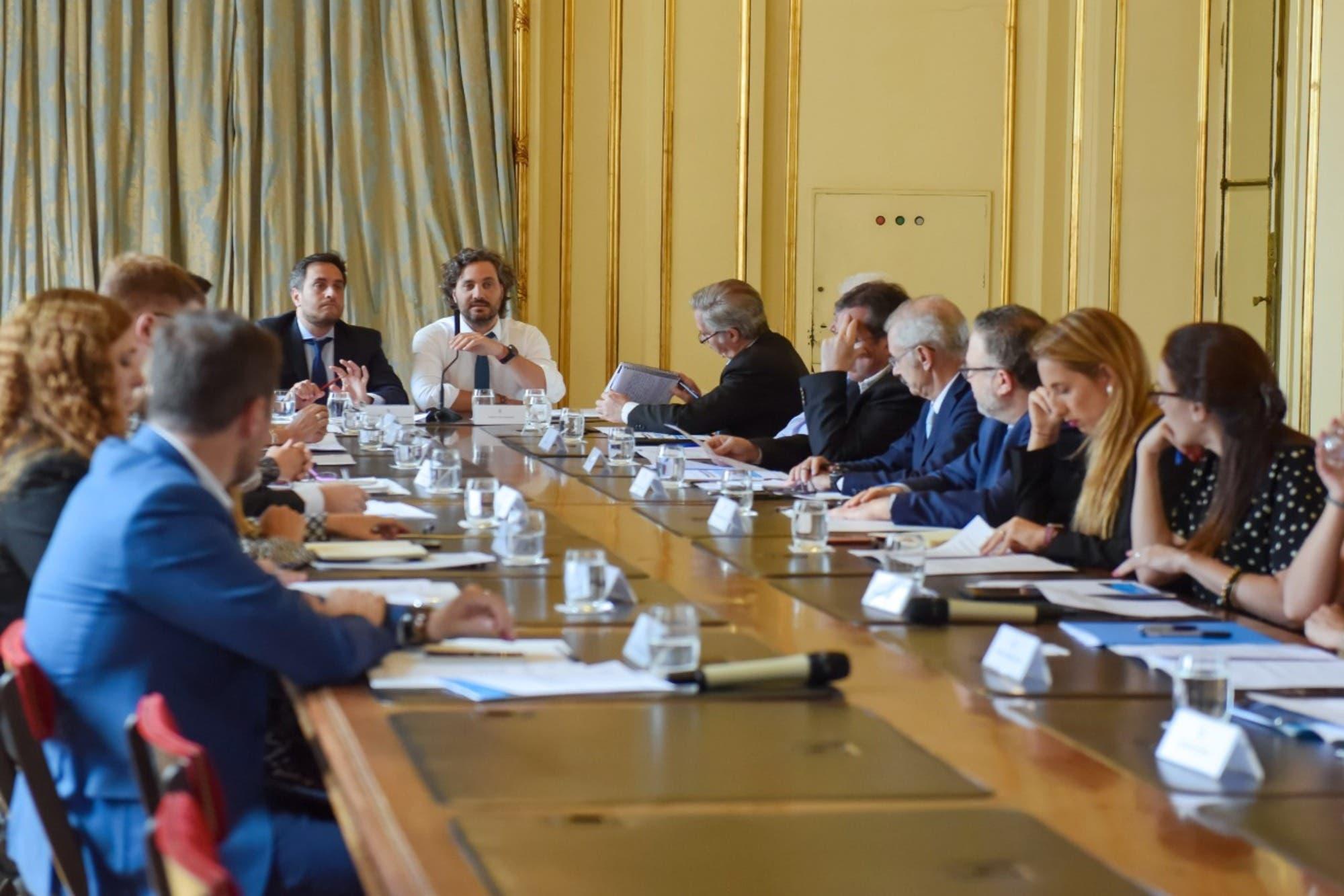 Los compromisos tras la primera reunión del Gabinete Nacional de Cambio Climático