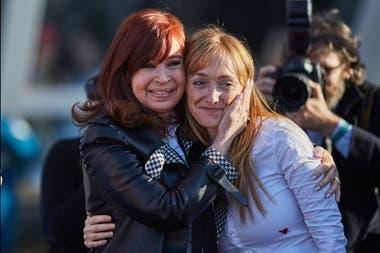 Cristina Kirchner y Anabel Fernández Sagasti