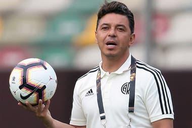 Marcelo Gallardo afronta con River un nuevo desafío en la Copa Libertadores.