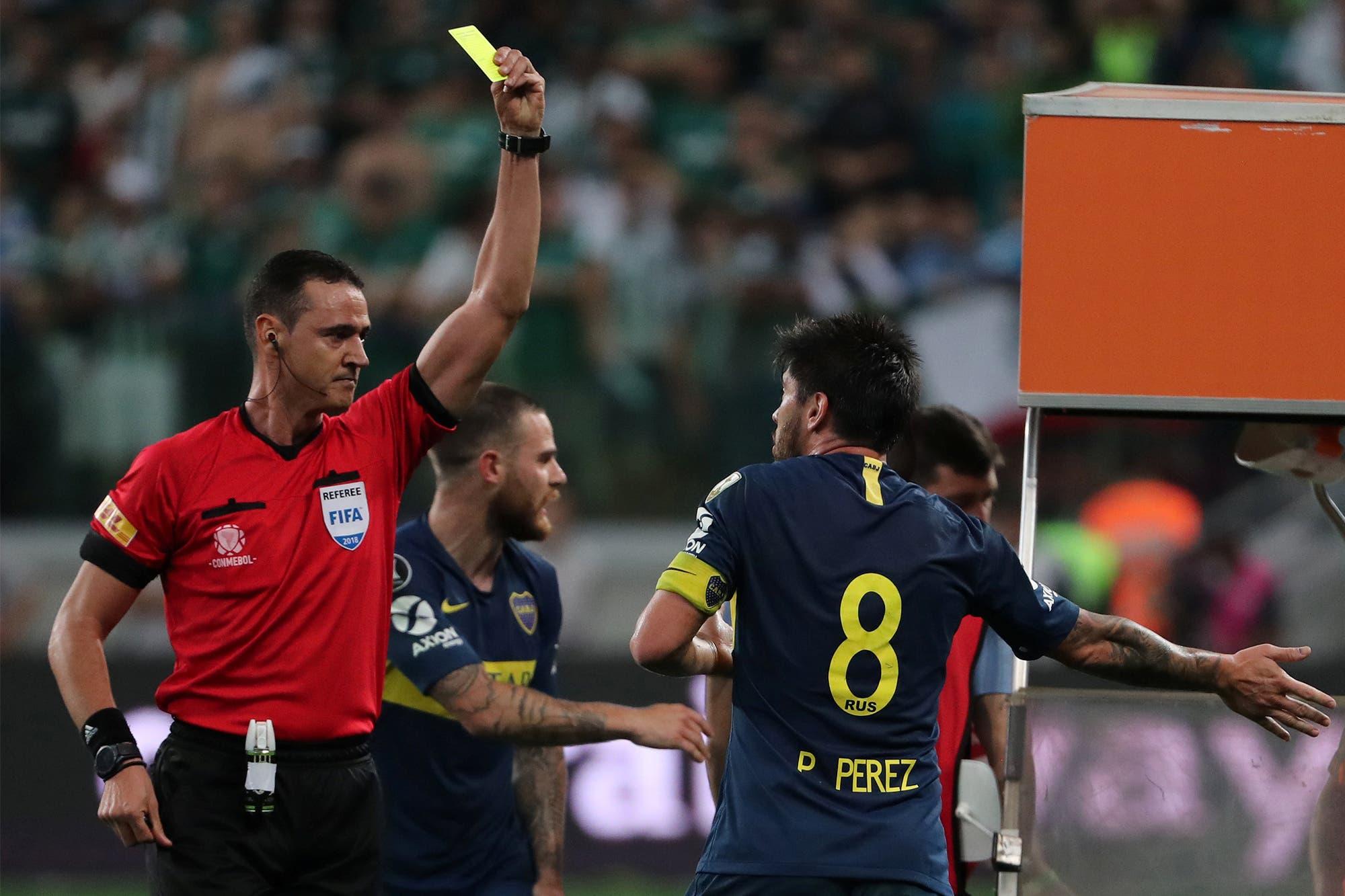 """""""Me superaba"""": Pablo Pérez explicó por qué recibía muchas amarillas en Boca"""