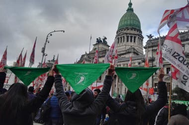 Marcha por el aborto legal
