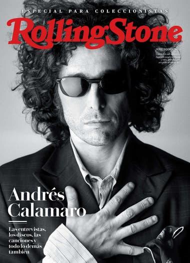 La portada del Bookazine dedicado a Andrés Calamaro