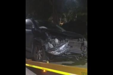 El productor musical y jurado del Cantando 2020 sufrió un accidente este martes, cuando se dirigía al canal