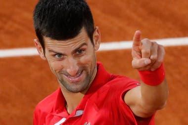 Simpático y provocador: todas las caras de Djokovic
