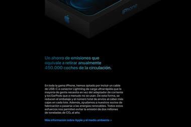 La explicación de Apple en España para no incluir auriculares ni el cargador en el nuevo iPhone 12
