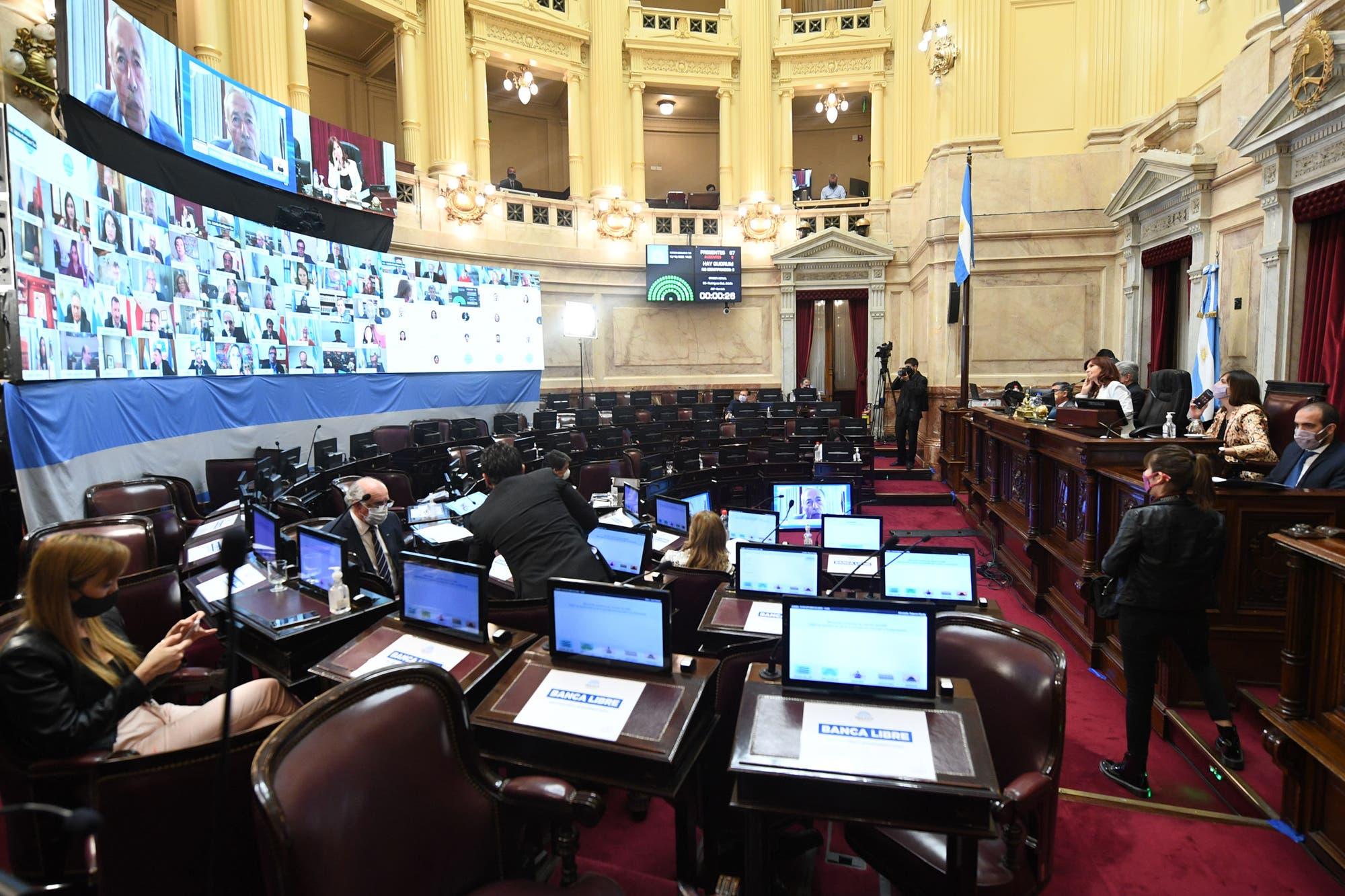 En un duro debate, el Senado aprobó la ley de concursos y quiebras que excluye a Vicentin
