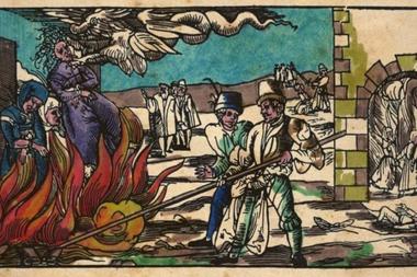 Se estima que solo en Alemania 25.000 personas fueron ejecutadas por presunta brujería.