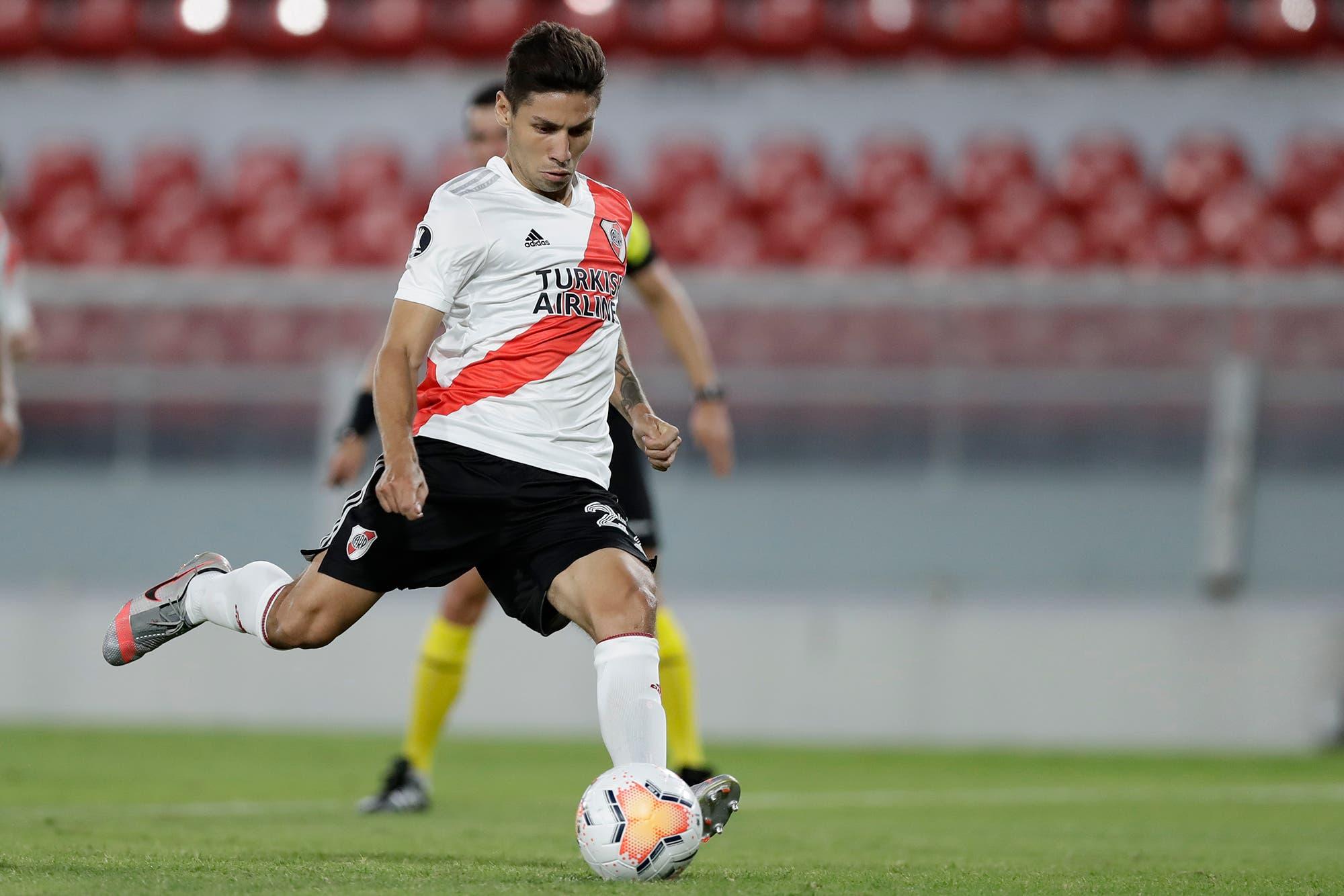 Gonzalo Montiel firmó la renovación en River: sin refuerzos, Marcelo Gallardo se arma con los propios
