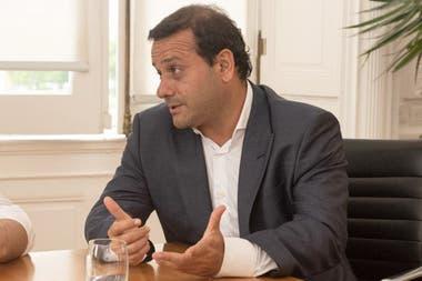 El gobernador de Misiones, Oscar Herrera Ahuad