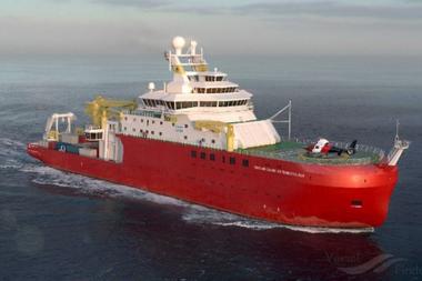 El barco Sir David Attenborough está equipado para hacer investigaciones ambientales