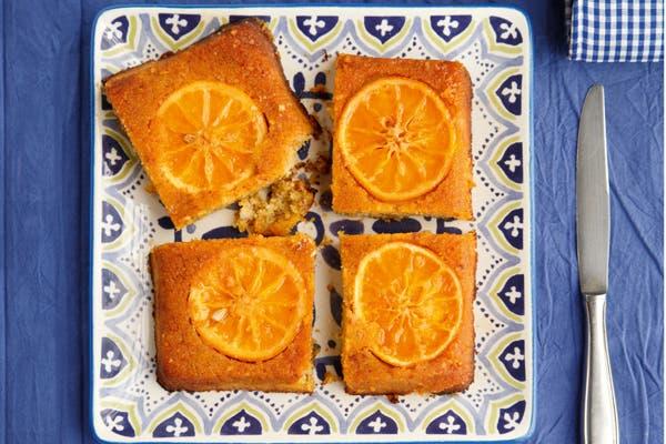 Receta de Torta invertida con polenta