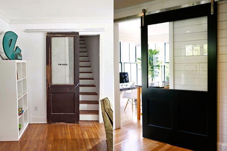 10 ideas para sumar una puerta estilo granero la nacion for Puertas correderas estilo granero