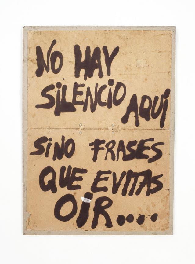 """""""El Puré de Alejandra"""" (1986), de Batato Barea. Galería Cosmocosa, Sección Principal"""