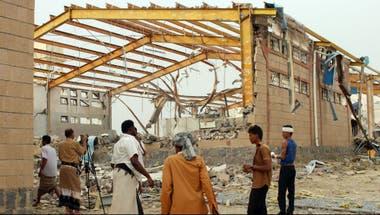 Los ataques aéreos de la coalición se repitieron en los últimos días en otras localidades del sur