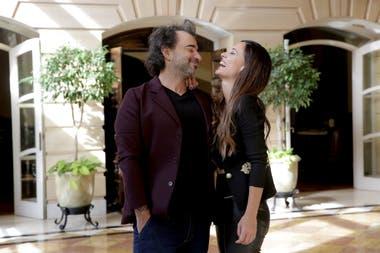 Pablo Trapero y Martina Gusmán