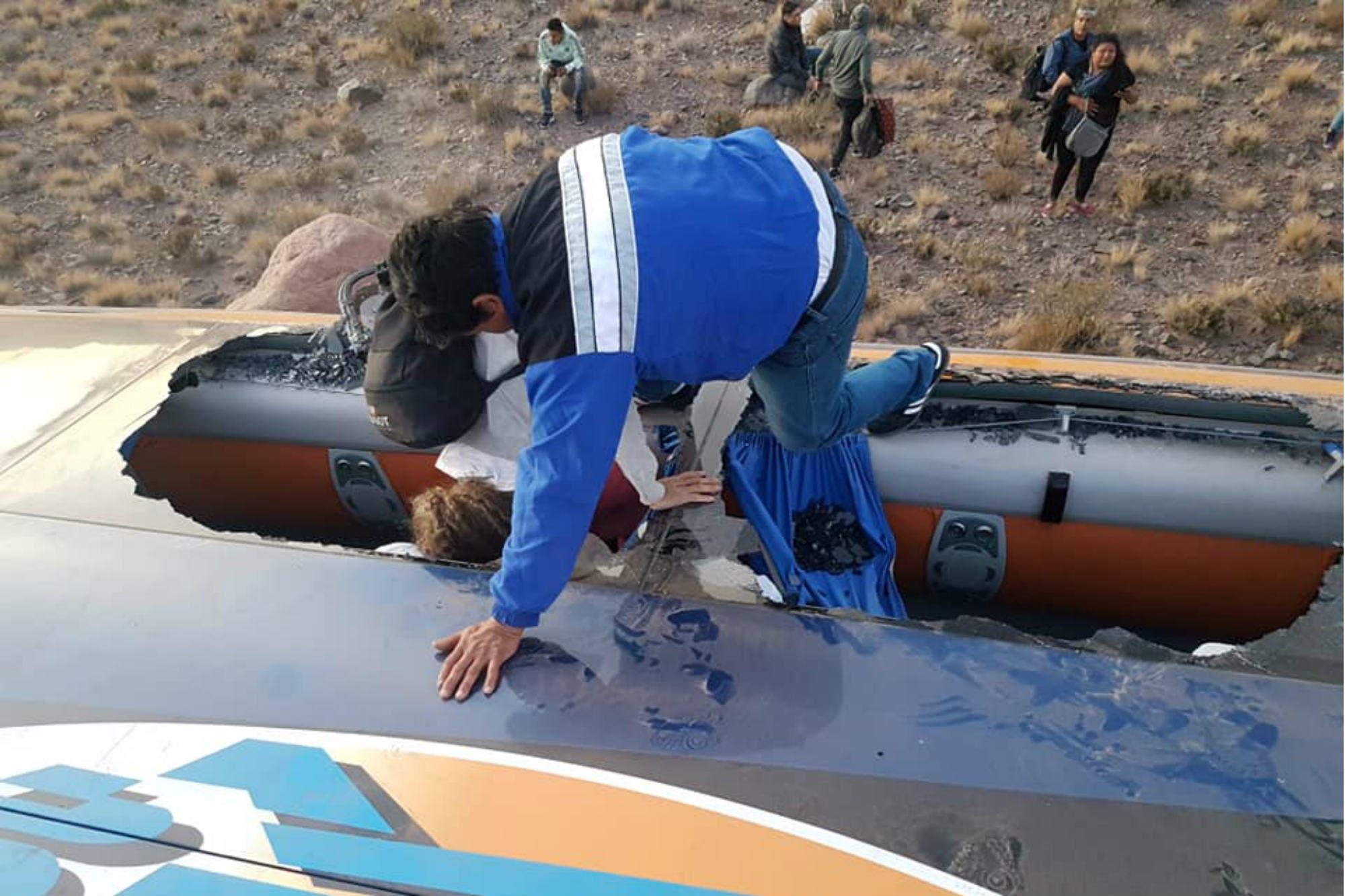 El chofer del accidente de ómnibus en Mendoza reconoció haberse quedado dormido