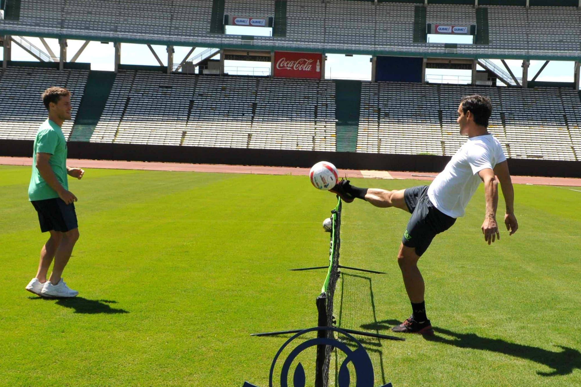 Córdoba Open: un poco de fútbol con Schwartzman y Fognini en el Kempes