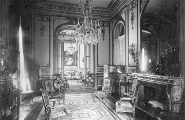 Salas de recibo de la residencia Cobo-Unzué, circa1915. Museo Nacional de Arte Decorativo, archivo Luynes.