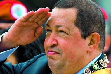 Hugo Chávez, en 2012