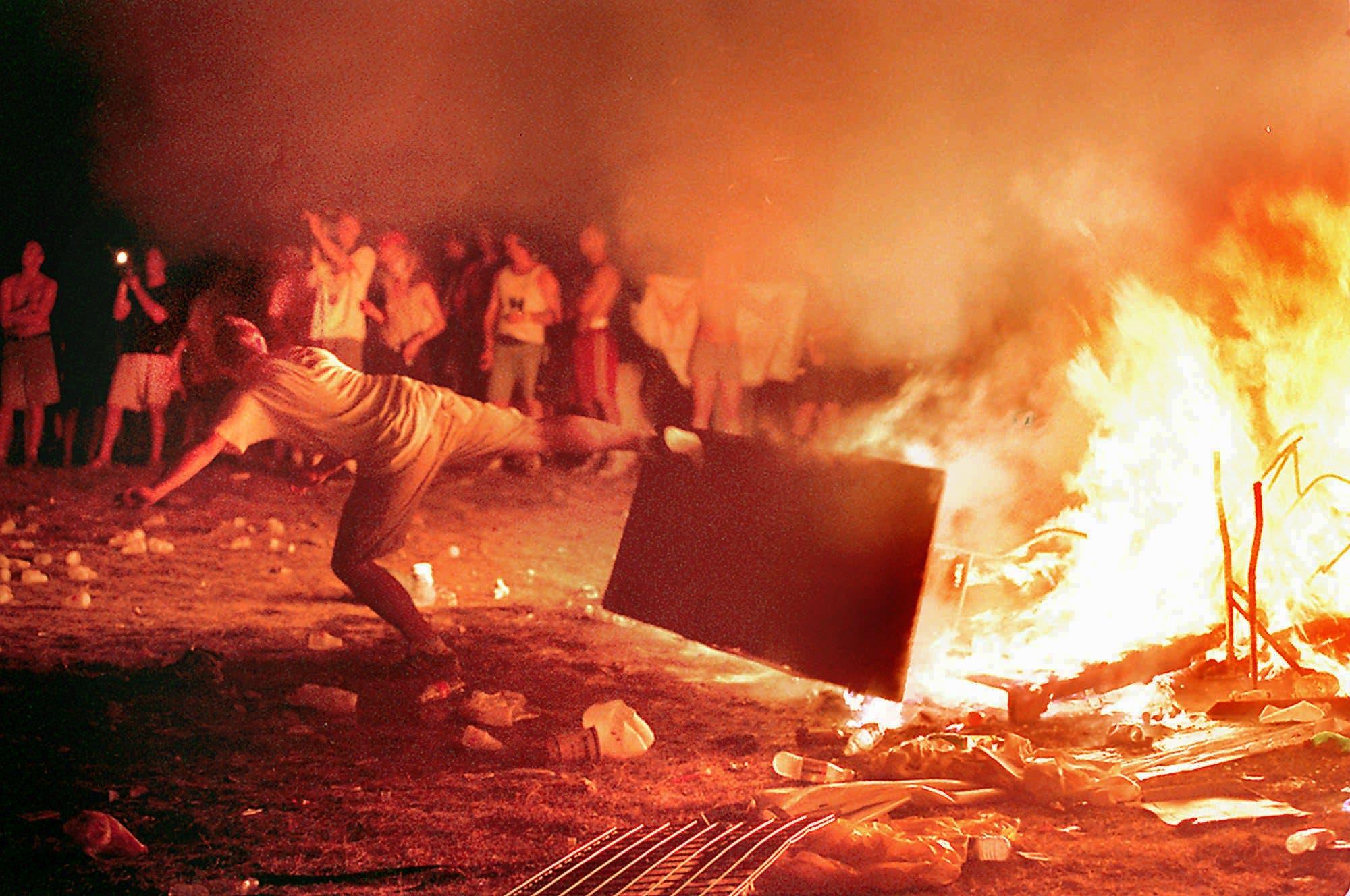 El último Woodstock no fue una fiesta: la caótica edición de 1999