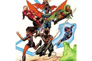 La nueva camada de personajes que desembarcaron en los cómics de Marvel sirvieron para renovar su universo