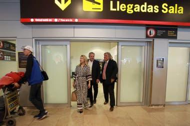 La llegada de Alberto Fernández a Madrid