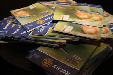 Rotary Life é a publicação que divulga as novidades e os ideais da entidade na Argentina