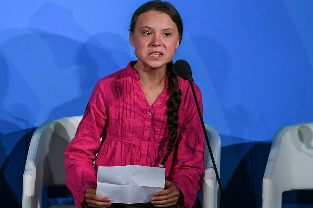 Teen climate activist Greta Thunberg sets stare on Donald Trump at UN in viral video
