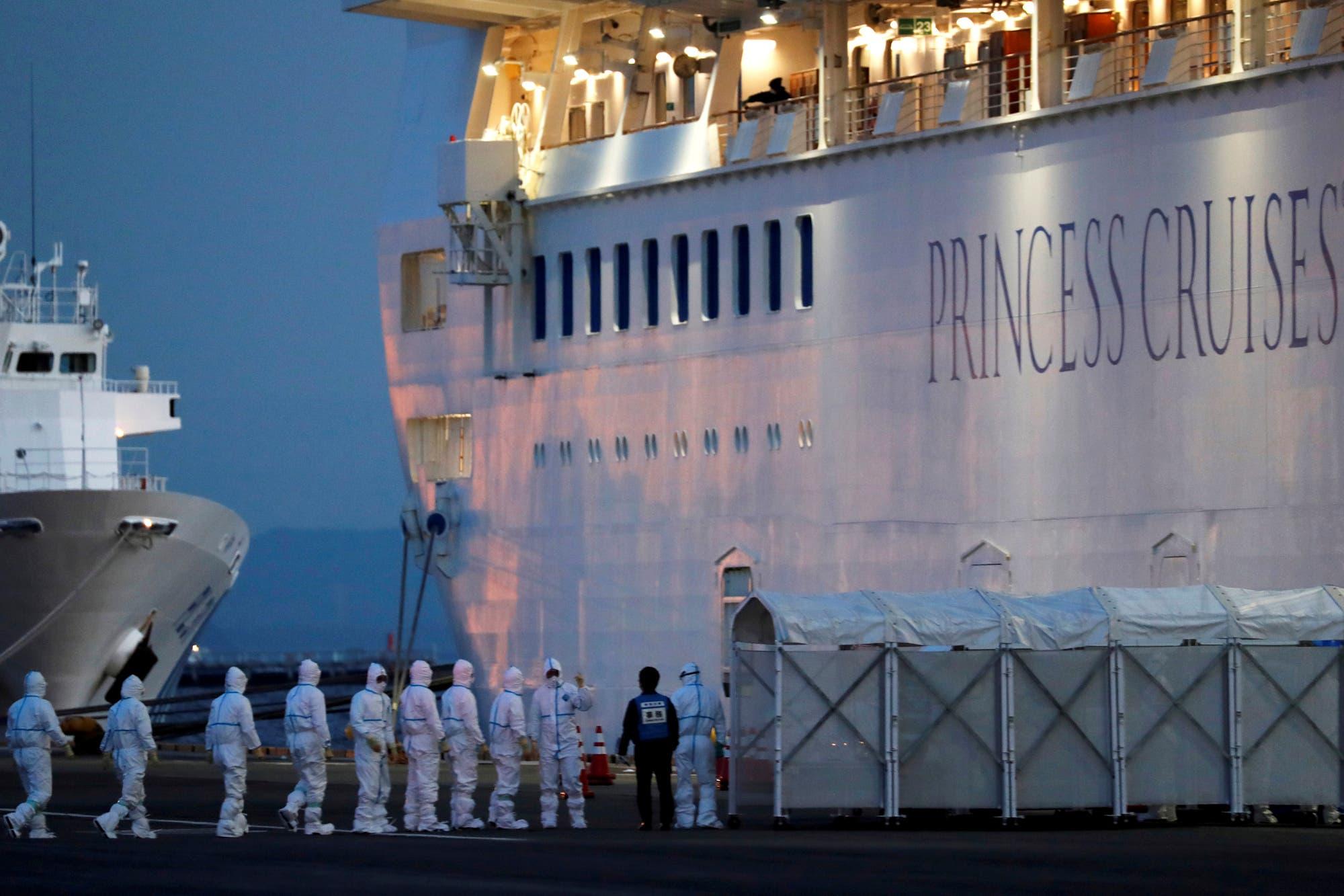 Coronavirus: dio positivo el británico que relata su día a día a bordo del crucero en cuarentena de Japón
