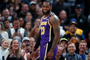 LeBron James y los Lakers, animadores de un final de temporada histórico en la NBA