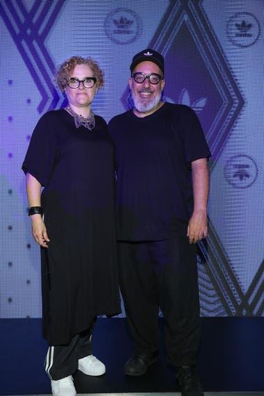 Kostüme, la pareja de diseñadores integrada por Camila Milessi y Emiliano Blanco Fuente: VISA BAFWEEK