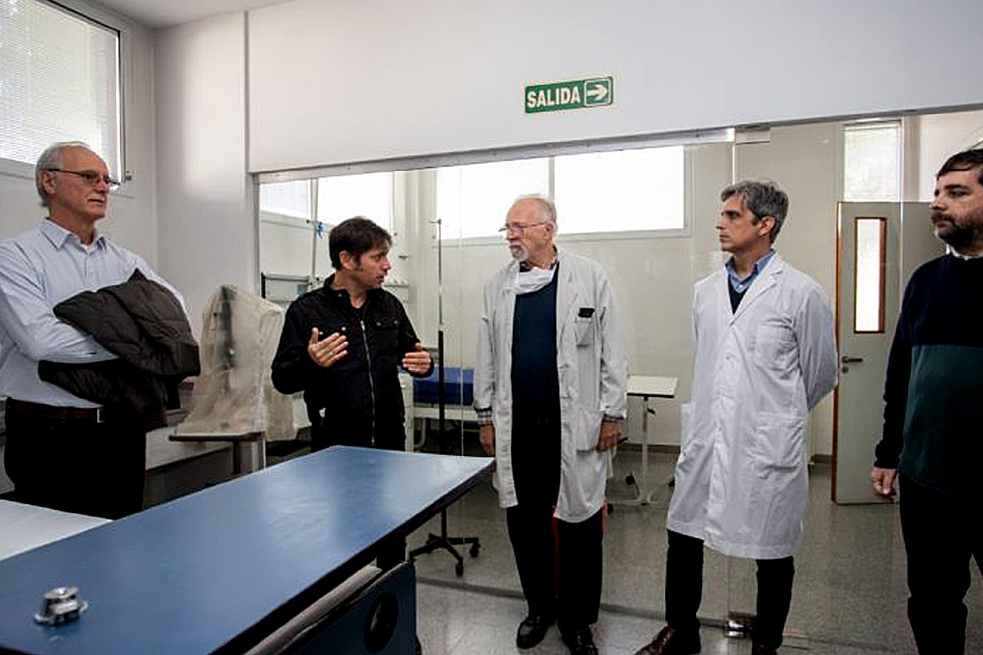 Axel Kicillof no tiene coronavirus: el gobierno le hizo el test y dio negativo