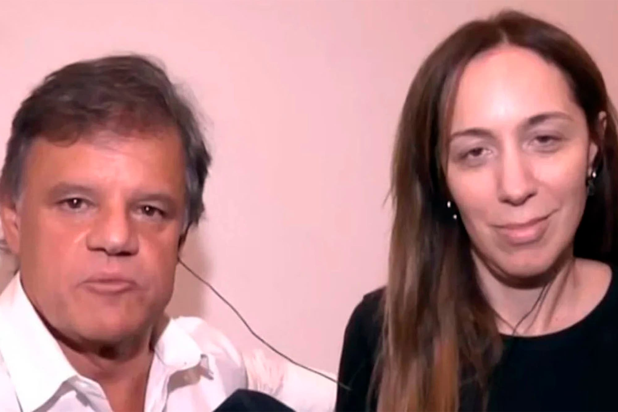 Coronavirus: Enrique Sacco contó cómo están María Eugenia Vidal y su madre, de 88 años