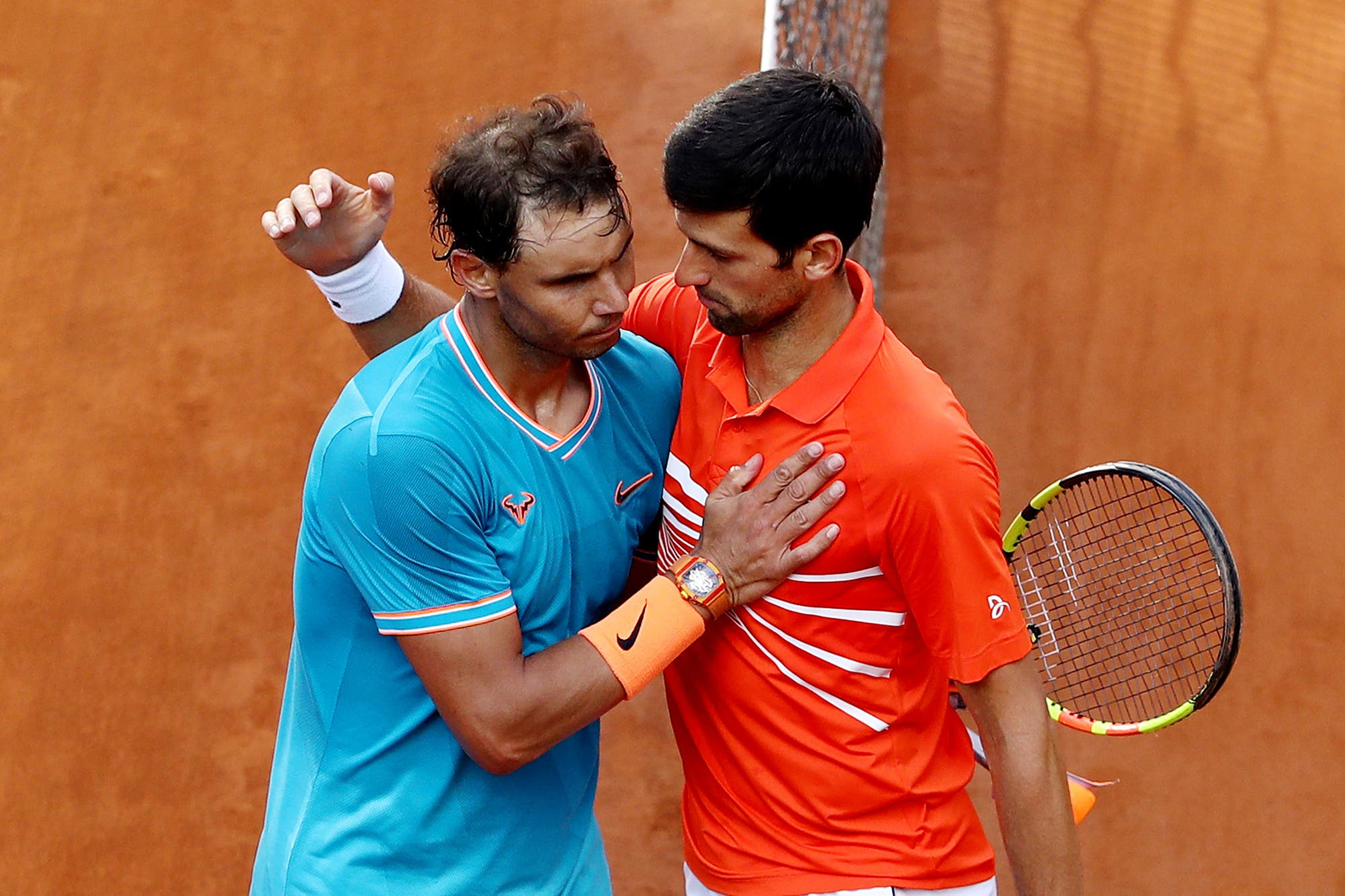 Masters 1000 de Cincinnati: Novak Djokovic y Rafael Nadal, inscriptos en el torneo con el que regresará el tenis masculino