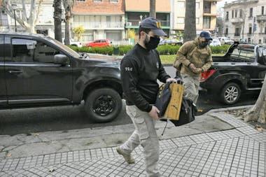 Allanaron una fiscalía en Rosario en una investigación por juego clandestino