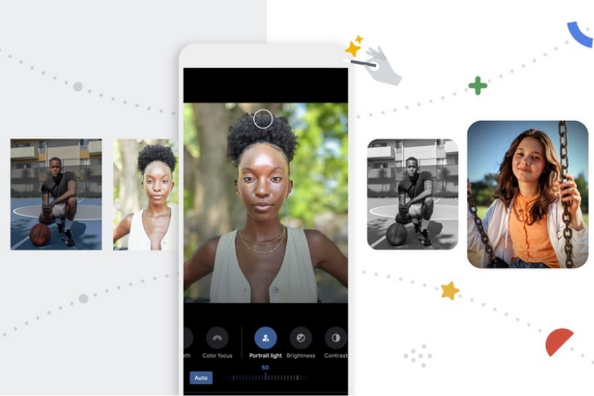 Google Fotos se renueva con un editor de imágenes con iluminación de retrato