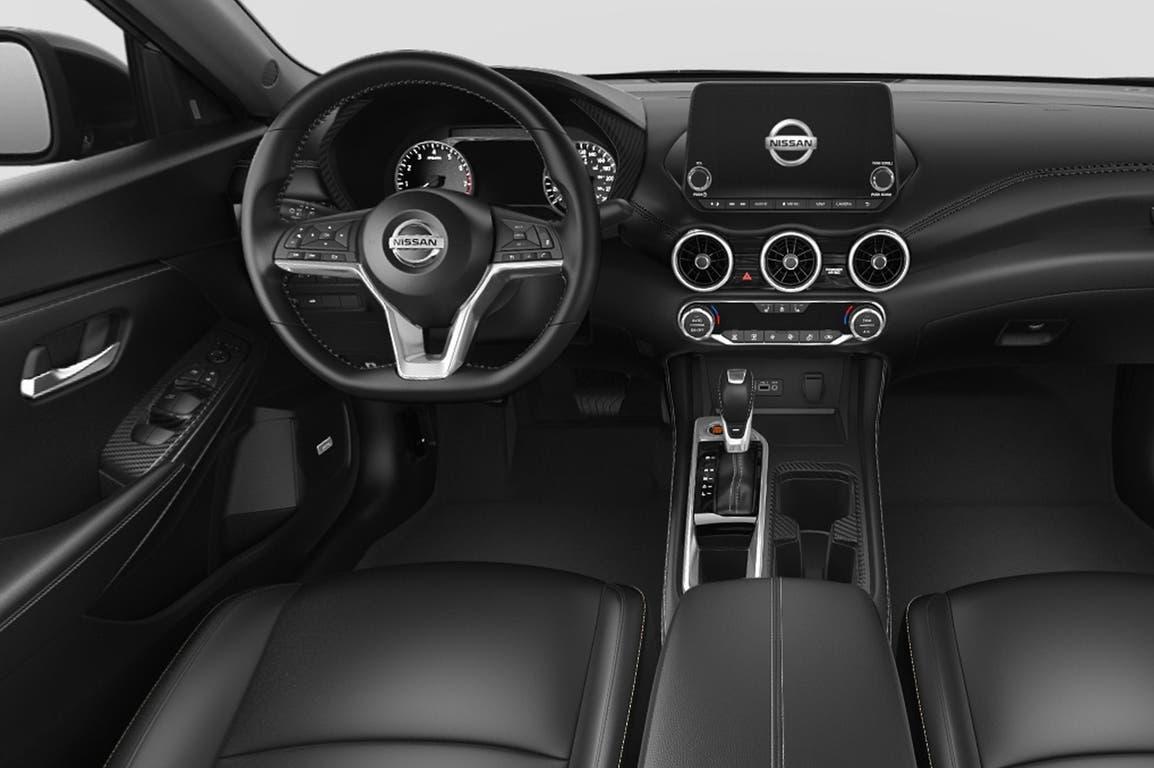 El interior del nuevo Nissan Sentra