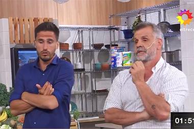 Juan Marconi y Christian Petersen fueron implacables con un participante de El gran premio de la cocina
