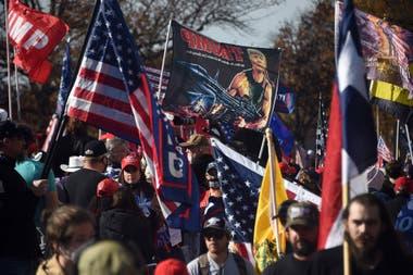 Entre los convocantes había grupos de extrema derecha