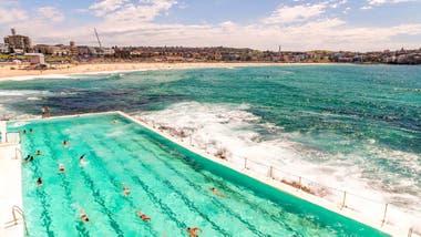 Una de las piletas de mar de Sydney