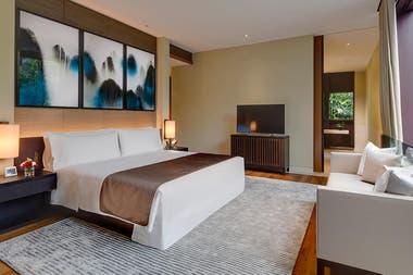 Capella es el hotel donde se reunirían Donald Trump y Kim Jong-un en la isla Sentosa en Singapur