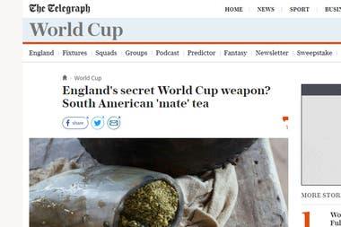 Así reflejan los medios ingleses la noticias del mate