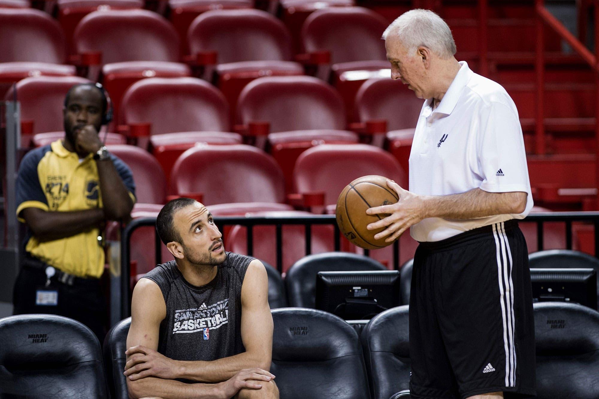 Manu Ginóbili reveló qué vio en San Antonio tras sus vacaciones que lo hizo tomar la decisión final