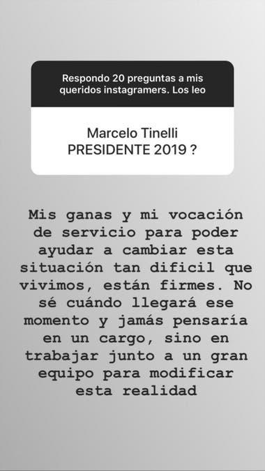 Marcelo Tinelli Presidente El Conductor Respondio La Pregunta
