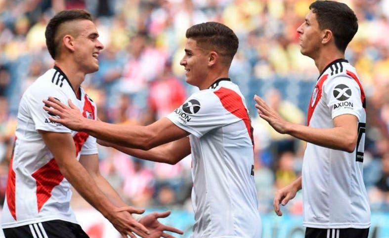 River venció a América de México en el último amistoso de la pretemporada