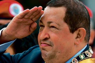 Hugo Chávez en un acto oficial en 2012