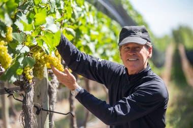 EL americano Paul Hobbs reparte su vida por el mundo del vino y en Argentina lo hace desde Viña Cobos